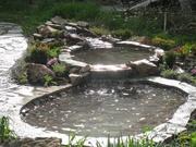 Водопады. Водоемы и ручьи.