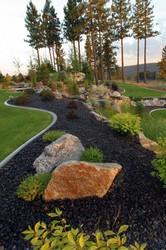 Ландшафтный дизайн,  озеленение,  газоны,  каменистые сады